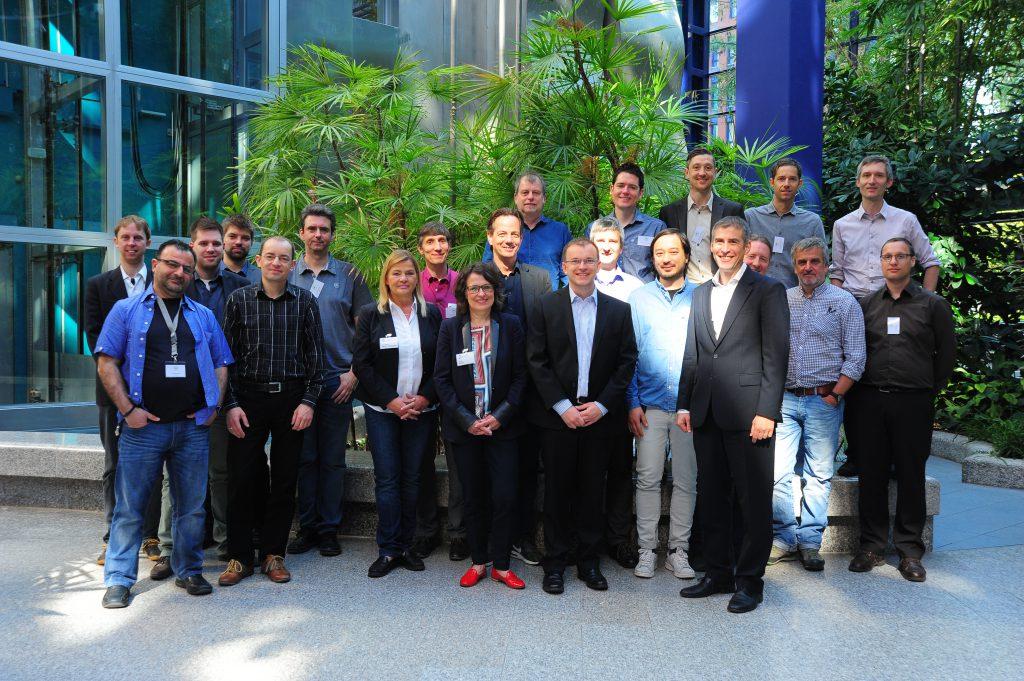 Teilnehmer des Kick-off Treffens des ZIM-Netzwerks PerzPektive in Berlin
